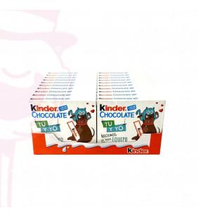 KINDER CHOCOLATE 20 UD. T-4