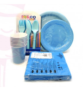 PACK DESECHABLE AZUL