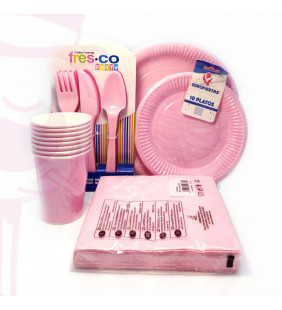 PACK DESECHABLE ROSA