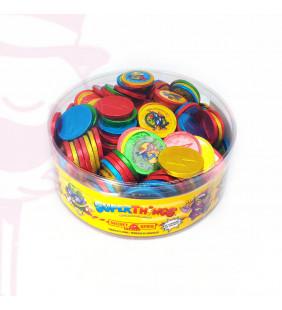 MONEDAS CHOCOLATE SUPER THINGS